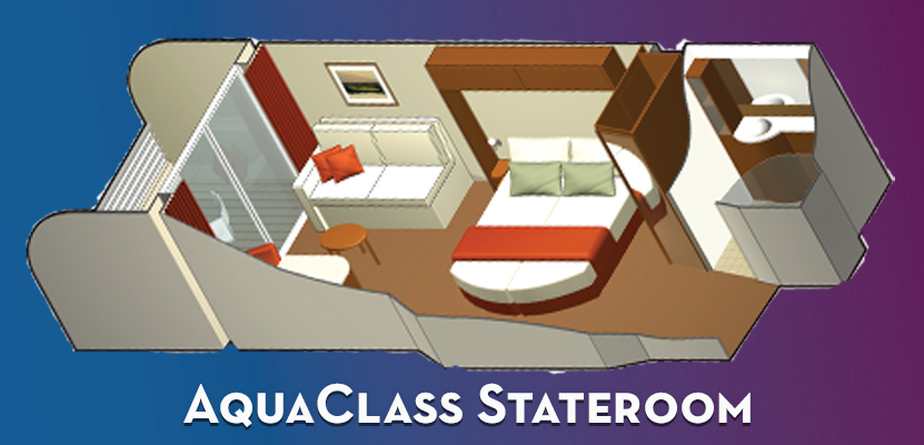 Aquaclass Staterooms with Veranda