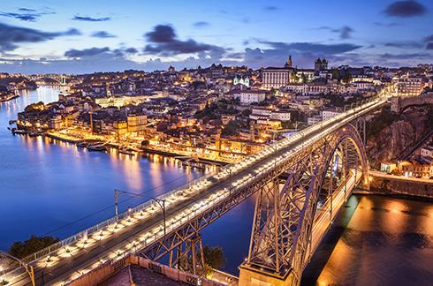 Lisbon, Coimbra, Porto
