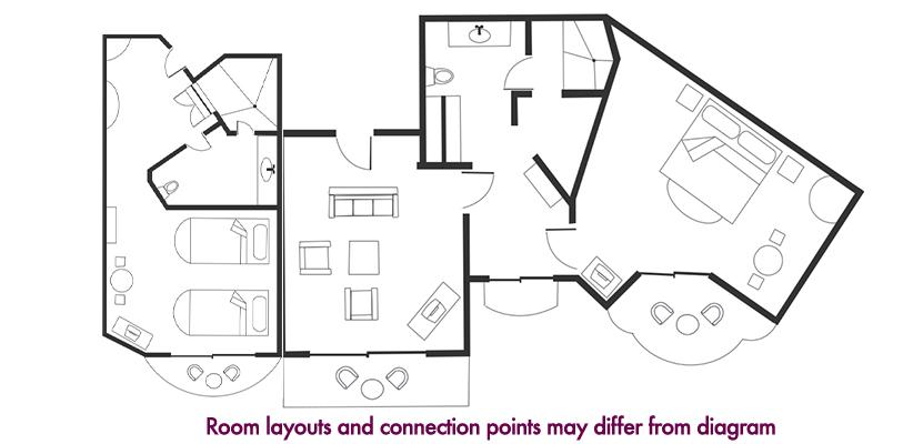 2-Bedroom Suite Oceanfront