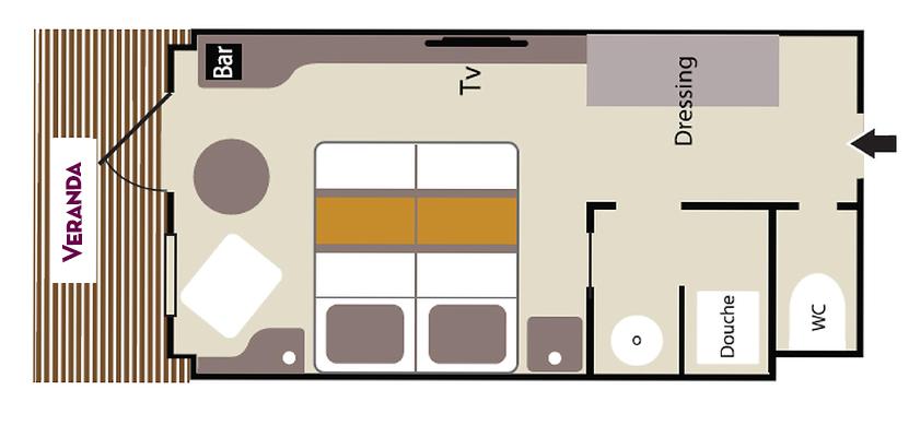 Deluxe Stateroom – Deck 3