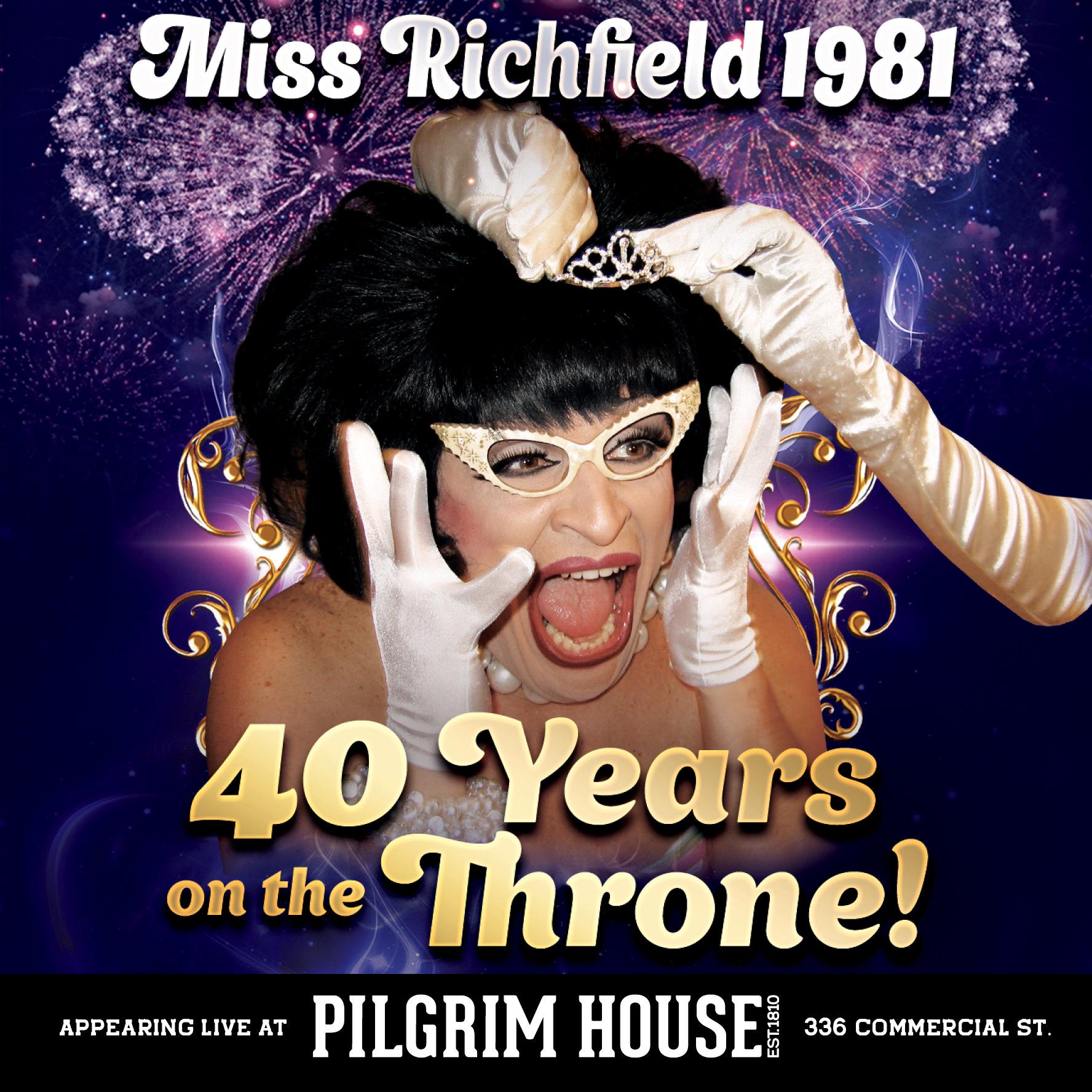 Miss Richfield at Pilgrim House