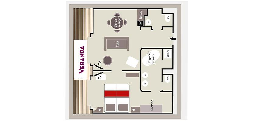 Owner's Suite – Deck 6