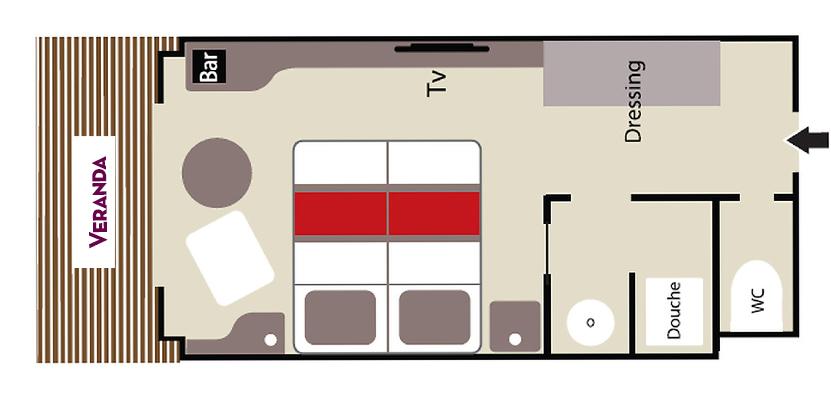 Prestige Stateroom – Deck 4