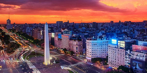 ARRIVE IN BUENOS AIRES