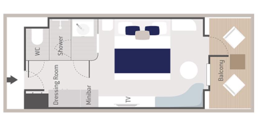 Prestige Veranda Staterooms